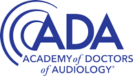 academy of doctors of audiology logo